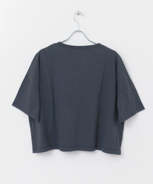 URBAN RESEARCH / アーバンリサーチ Tシャツ | Champion×URBAN RESEARCH ウォッシュドジャージーワイドTシャツ | 詳細20