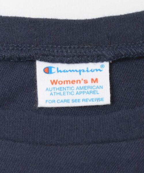URBAN RESEARCH / アーバンリサーチ Tシャツ | Champion×URBAN RESEARCH ソフトコットン刺繍ロゴVネックTシャツ | 詳細19