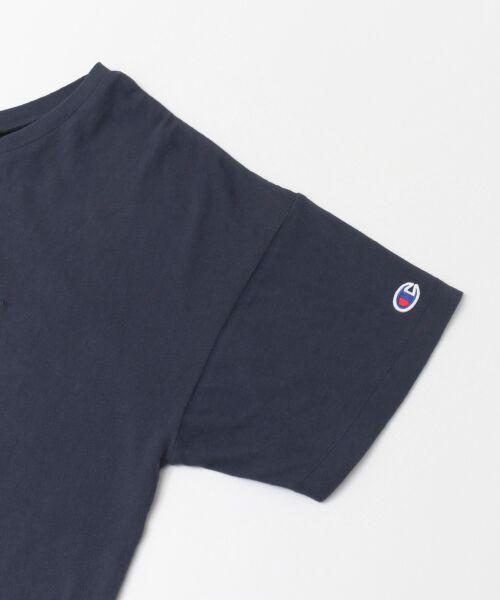 URBAN RESEARCH / アーバンリサーチ Tシャツ | Champion×URBAN RESEARCH ソフトコットン刺繍ロゴVネックTシャツ | 詳細20