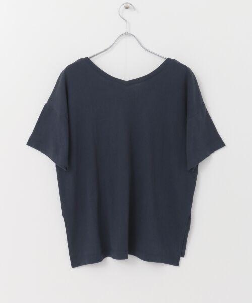 URBAN RESEARCH / アーバンリサーチ Tシャツ | Champion×URBAN RESEARCH ソフトコットン刺繍ロゴVネックTシャツ | 詳細23