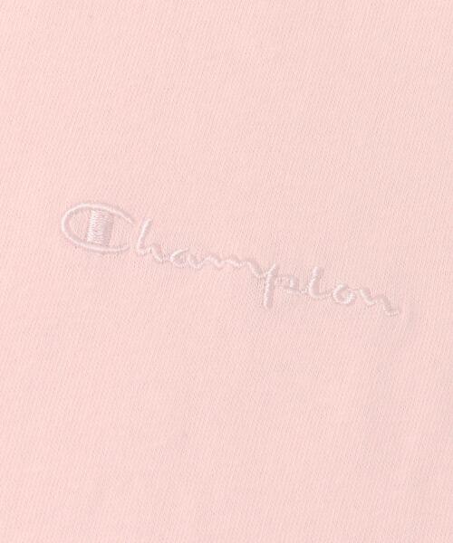 URBAN RESEARCH / アーバンリサーチ Tシャツ | Champion×URBAN RESEARCH ソフトコットン刺繍ロゴVネックTシャツ | 詳細25