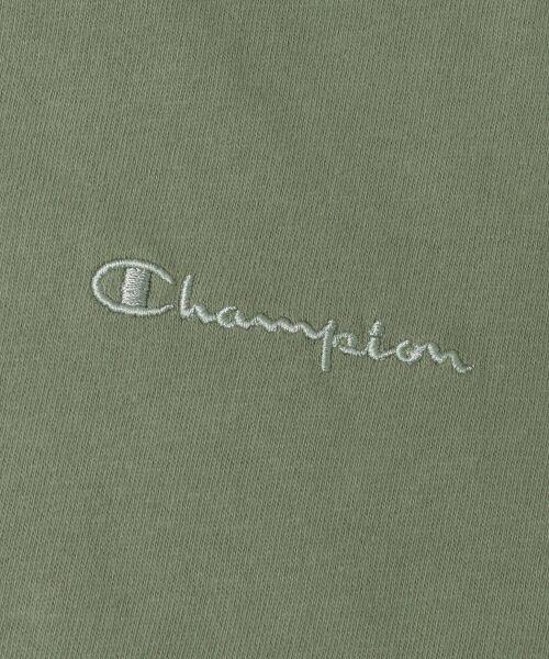 URBAN RESEARCH / アーバンリサーチ Tシャツ | Champion×URBAN RESEARCH ソフトコットン刺繍ロゴVネックTシャツ | 詳細26