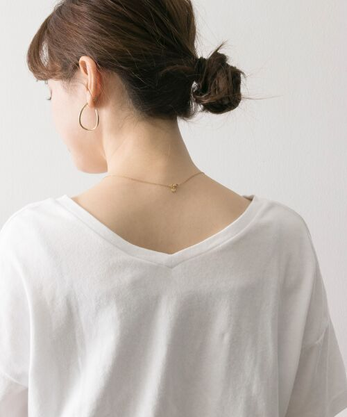 URBAN RESEARCH / アーバンリサーチ Tシャツ | Champion×URBAN RESEARCH ソフトコットン刺繍ロゴVネックTシャツ | 詳細9