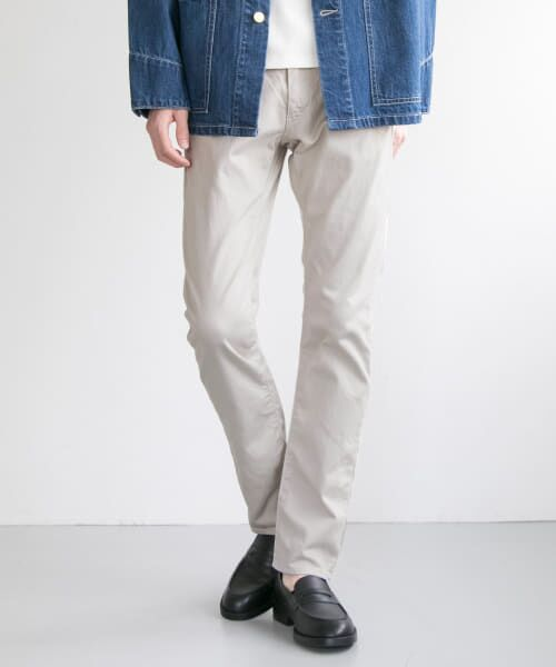 URBAN RESEARCH / アーバンリサーチ その他パンツ   japan made slim trousers(ICE GRAY)