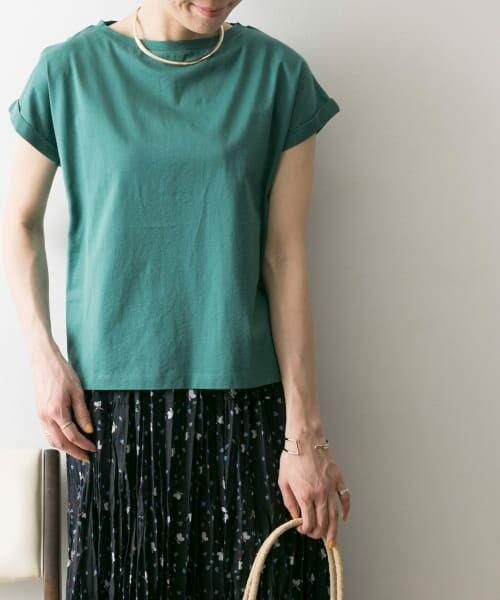 URBAN RESEARCH / アーバンリサーチ Tシャツ | ペルビアンコットンTシャツ(MINT)