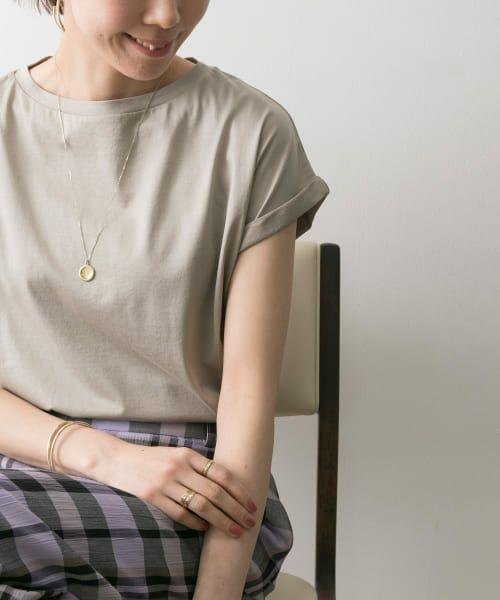 URBAN RESEARCH / アーバンリサーチ Tシャツ | ペルビアンコットンTシャツ | 詳細17