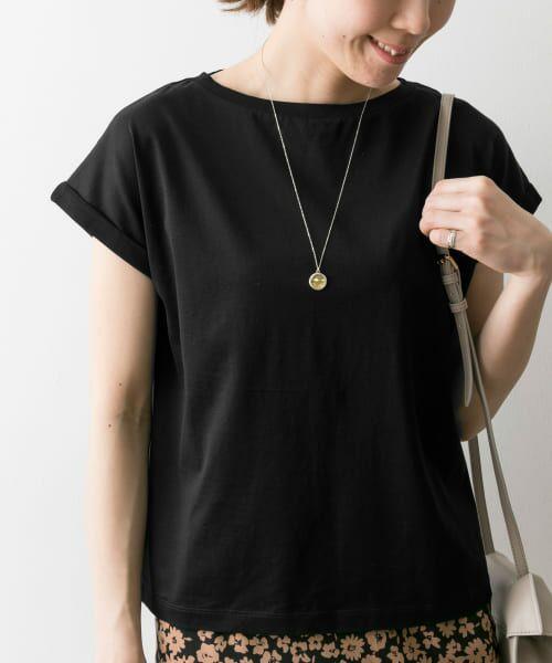 URBAN RESEARCH / アーバンリサーチ Tシャツ | ペルビアンコットンTシャツ | 詳細2