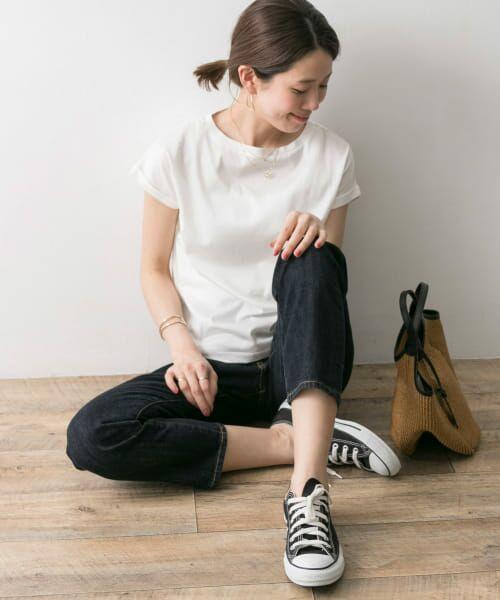 URBAN RESEARCH / アーバンリサーチ Tシャツ | ペルビアンコットンTシャツ | 詳細20