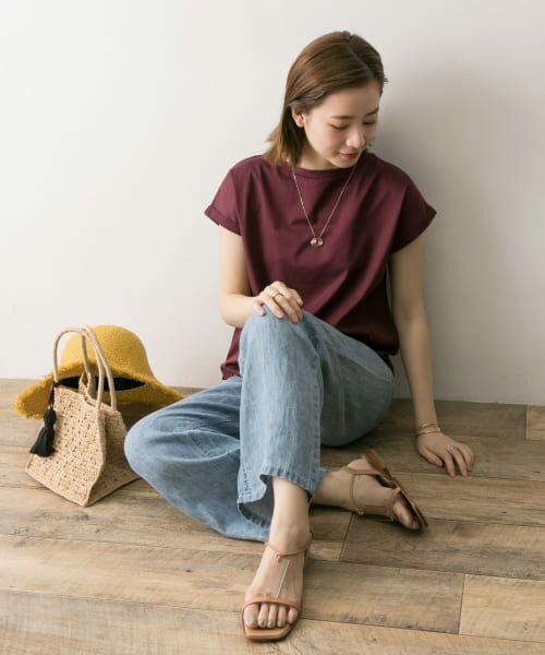 URBAN RESEARCH / アーバンリサーチ Tシャツ | ペルビアンコットンTシャツ | 詳細7