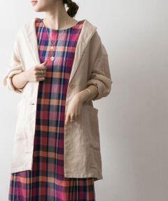 """<strong style=""""font-weight:bold;"""">【ラミー素材で仕上げた""""涼しく羽織れるジャケット""""】</strong><br>清涼感のあるラミー100%の日本素材を使用したリラックス感のあるジャケット。くたっとしたカジュアルな風合いが着崩し感のあるこなれムードを演出します。ロング丈の着丈も新鮮◎涼しく着られるラミー素材を使用しているので、夏場でも羽織りとして活躍します。<br><br><strong style=""""font-weight:bold;"""">POINT</strong><br>・春夏らしい新鮮なニュアンスカラーの展開<br>・くたっとしたリネンの風合いがこなれ感を演出<br>・清涼感のあるラミー素材で夏場も快適に着用可能<br><br><strong style=""""font-weight:bold;"""">COORDINATE</strong><br>お袖をまくったり、衿を後ろに抜かしてゆるっとお召いただくのがおすすめの着方。ワンピース、デニム、スカートなどコーディネートを選ばず活躍します。<br><br>※この商品は、麻素材を使用しております。<br>素材の特性上、シワになりやすいのでご注意ください。<br>※この商品は、激しい運動や強い力がかかると、滑脱したり目寄れすることがあります。ご着用の際はご注意ください。<br>※その他お取り扱いに関しましては、商品に付属のアテンションタグをご覧ください。<br><br>重量 : 約285g"""