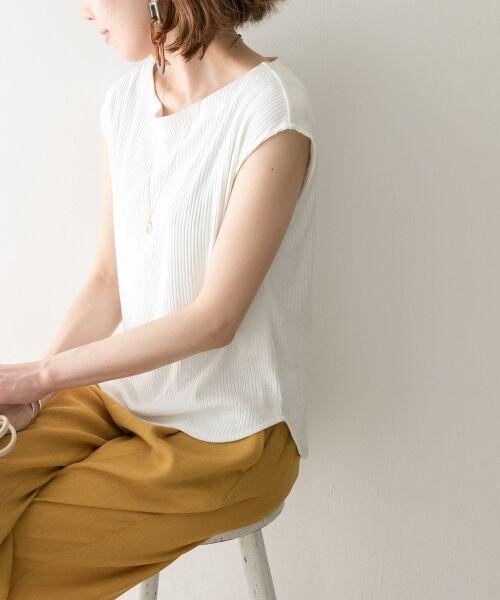 URBAN RESEARCH / アーバンリサーチ Tシャツ   機能素材針抜きテレコカットソー   詳細1