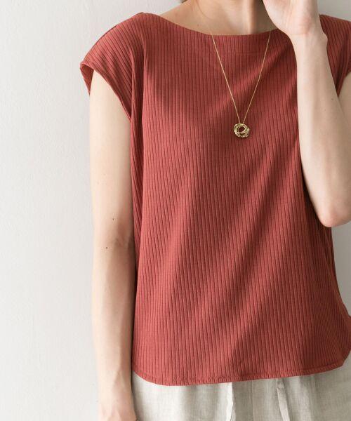 URBAN RESEARCH / アーバンリサーチ Tシャツ | 機能素材針抜きテレコカットソー | 詳細10