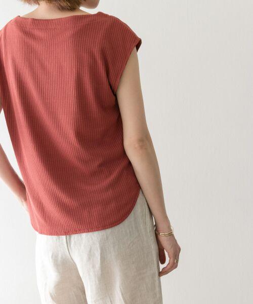 URBAN RESEARCH / アーバンリサーチ Tシャツ | 機能素材針抜きテレコカットソー | 詳細11