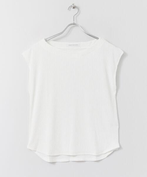 URBAN RESEARCH / アーバンリサーチ Tシャツ | 機能素材針抜きテレコカットソー | 詳細15