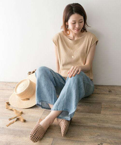 URBAN RESEARCH / アーバンリサーチ Tシャツ   機能素材針抜きテレコカットソー   詳細4