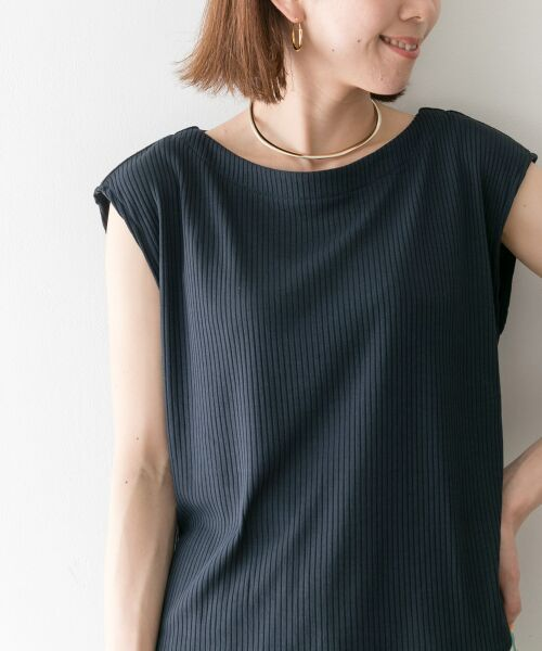 URBAN RESEARCH / アーバンリサーチ Tシャツ | 機能素材針抜きテレコカットソー | 詳細5