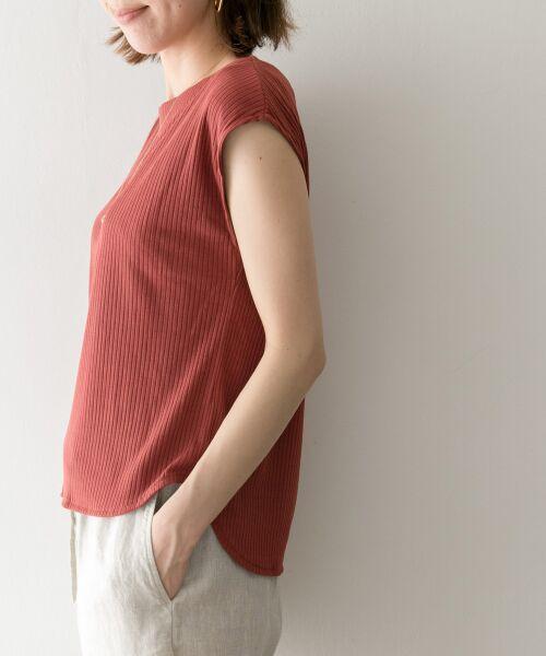 URBAN RESEARCH / アーバンリサーチ Tシャツ   機能素材針抜きテレコカットソー   詳細8
