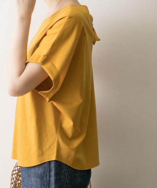 URBAN RESEARCH / アーバンリサーチ Tシャツ | バックリボンカットソー | 詳細10