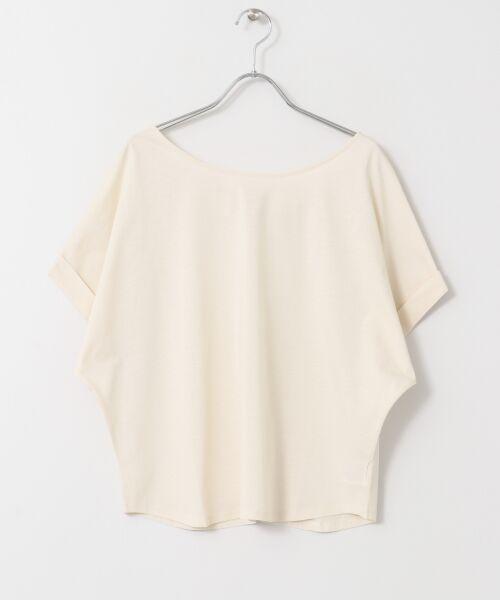 URBAN RESEARCH / アーバンリサーチ Tシャツ | バックリボンカットソー | 詳細19