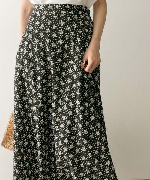 URBAN RESEARCH / アーバンリサーチ スカート | フラワープリントマキシスカート | 詳細6