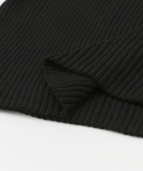 URBAN RESEARCH / アーバンリサーチ ニット・セーター | 3/60強撚コットンボートネックリブニット | 詳細24