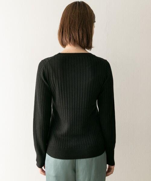 URBAN RESEARCH / アーバンリサーチ ニット・セーター | コンパクトリブニット(長袖) | 詳細22