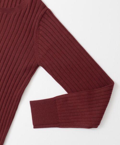 URBAN RESEARCH / アーバンリサーチ ニット・セーター | コンパクトリブニット(長袖) | 詳細28