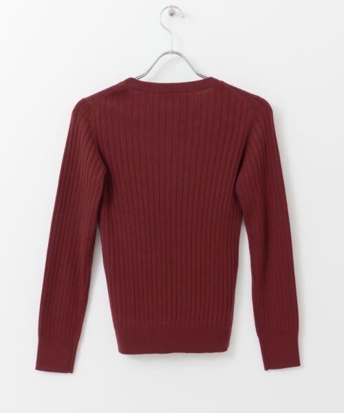 URBAN RESEARCH / アーバンリサーチ ニット・セーター | コンパクトリブニット(長袖) | 詳細29