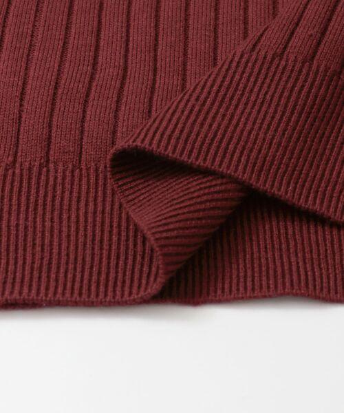 URBAN RESEARCH / アーバンリサーチ ニット・セーター | コンパクトリブニット(長袖) | 詳細30