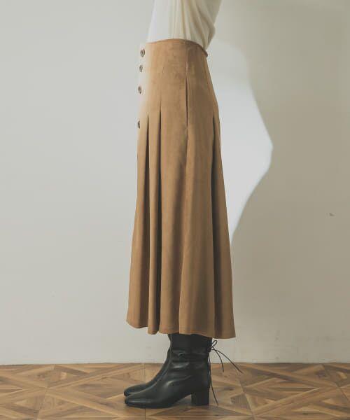 URBAN RESEARCH / アーバンリサーチ スカート | フロント釦フェイクスエードスカート | 詳細19