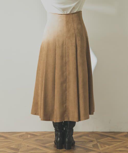 URBAN RESEARCH / アーバンリサーチ スカート | フロント釦フェイクスエードスカート | 詳細20