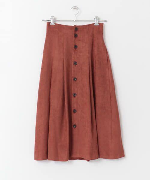 URBAN RESEARCH / アーバンリサーチ スカート | フロント釦フェイクスエードスカート | 詳細23
