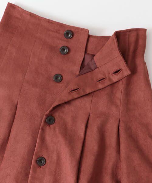 URBAN RESEARCH / アーバンリサーチ スカート | フロント釦フェイクスエードスカート | 詳細24