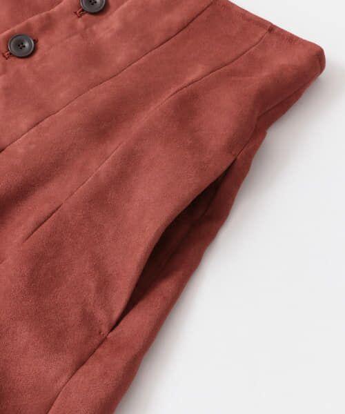 URBAN RESEARCH / アーバンリサーチ スカート | フロント釦フェイクスエードスカート | 詳細25