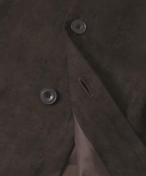 URBAN RESEARCH / アーバンリサーチ スカート | フロント釦フェイクスエードスカート | 詳細29