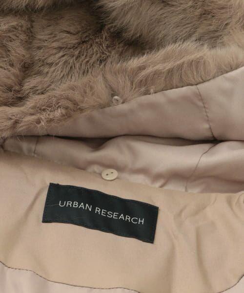 URBAN RESEARCH / アーバンリサーチ ダウンジャケット・ベスト | ラビットフードストレッチショートダウン | 詳細27