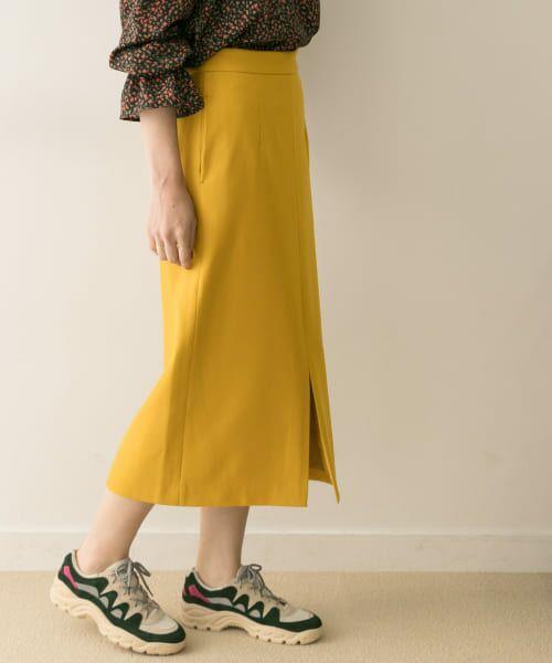 URBAN RESEARCH / アーバンリサーチ スカート | ジョーゼットタイトスカート | 詳細10