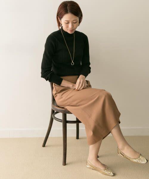 URBAN RESEARCH / アーバンリサーチ スカート | ジョーゼットタイトスカート | 詳細3