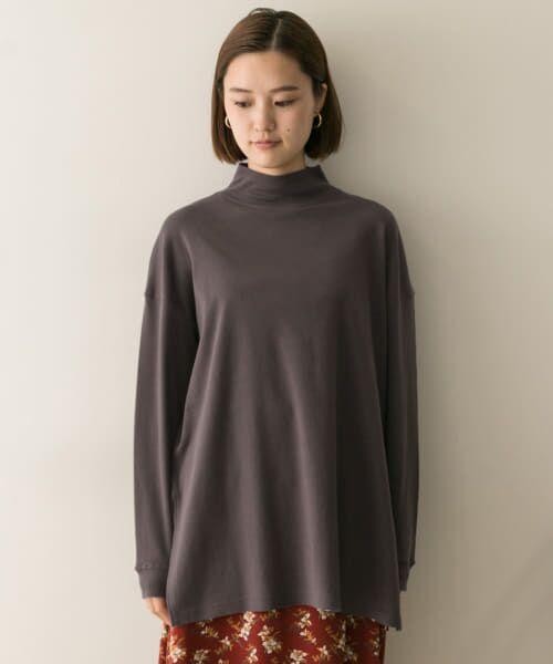 URBAN RESEARCH / アーバンリサーチ Tシャツ   スムースモックネックカットソー   詳細12