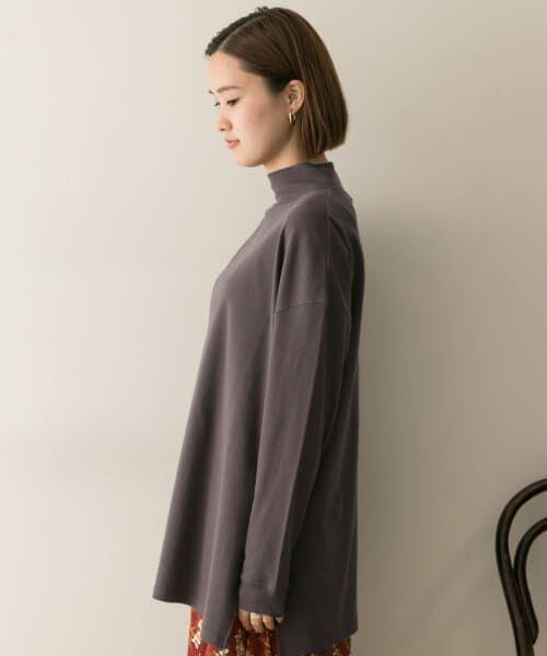 URBAN RESEARCH / アーバンリサーチ Tシャツ   スムースモックネックカットソー   詳細13