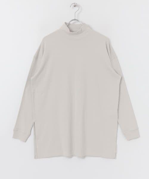 URBAN RESEARCH / アーバンリサーチ Tシャツ   スムースモックネックカットソー   詳細15