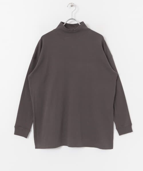 URBAN RESEARCH / アーバンリサーチ Tシャツ   スムースモックネックカットソー   詳細16