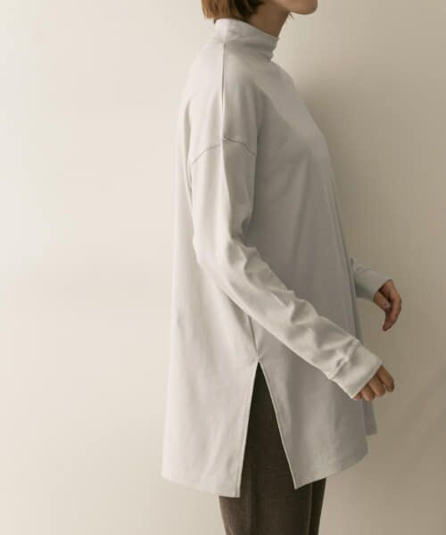 URBAN RESEARCH / アーバンリサーチ Tシャツ   スムースモックネックカットソー   詳細3
