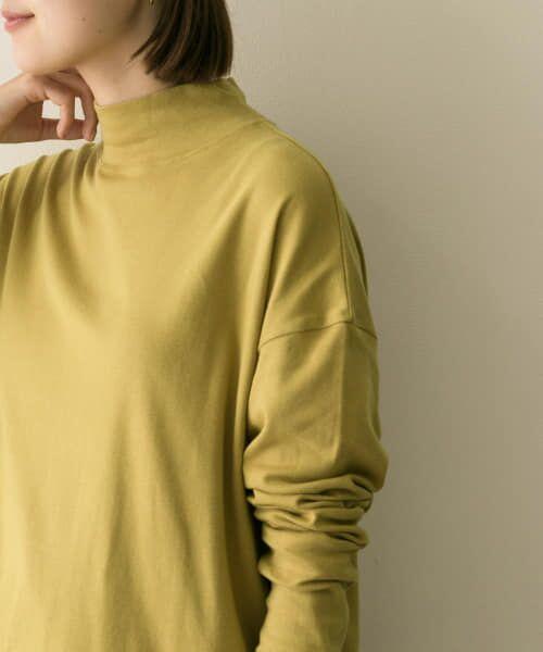 URBAN RESEARCH / アーバンリサーチ Tシャツ   スムースモックネックカットソー   詳細9