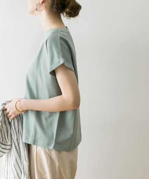 URBAN RESEARCH / アーバンリサーチ Tシャツ   ペルビアンコットンTシャツ(MINT GREEN)