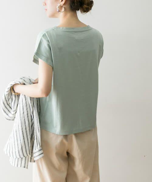 URBAN RESEARCH / アーバンリサーチ Tシャツ   ペルビアンコットンTシャツ   詳細14
