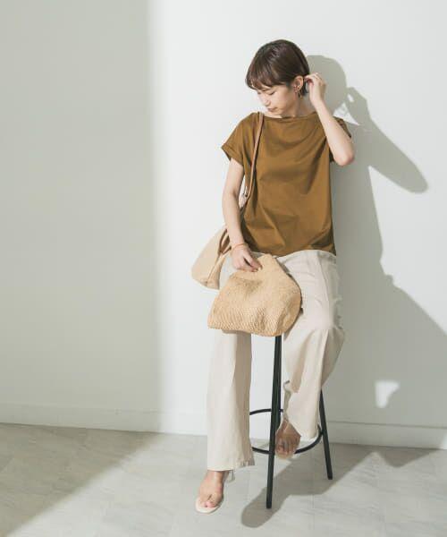 URBAN RESEARCH / アーバンリサーチ Tシャツ   ペルビアンコットンTシャツ   詳細7