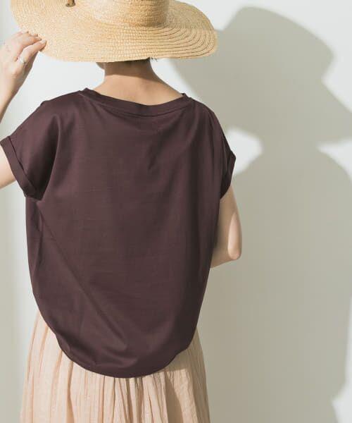 URBAN RESEARCH / アーバンリサーチ Tシャツ   ペルビアンコットンTシャツ   詳細9