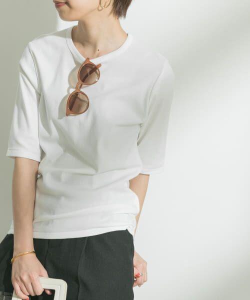 URBAN RESEARCH / アーバンリサーチ Tシャツ | フライスTシャツ(OFF)