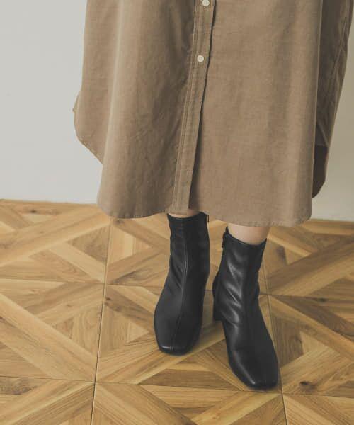 URBAN RESEARCH / アーバンリサーチ ブーツ(ショート丈) | ストレッチショートブーツ | 詳細1